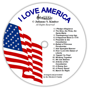 I Love America Songs CD
