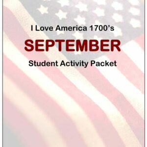 "1700's: ""Let Freedom Ring"" — Student Workbooks (Vol 1 & 2)"