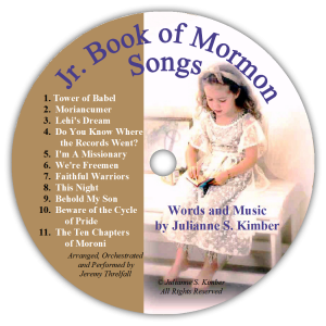 Junior Book of Mormon Songs CD