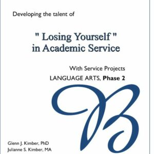 Language Arts Volume 2 — Academic Service Cont'd