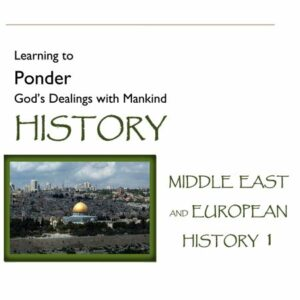 Hook Dates of the Middle East & European History, Volume 1