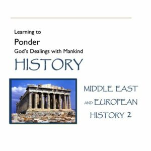 Hook Dates of the Middle East & European History, Volume 2