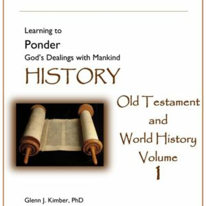 Hook Dates of the Old Testament and World History, Volume 1
