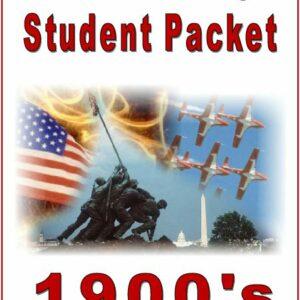 "I Love History –1900's: ""Light of the World"" — Student Workbook"