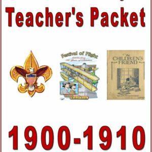 "I Love History 1900's – ""Light of the World"" — 10 Teacher Manuals"
